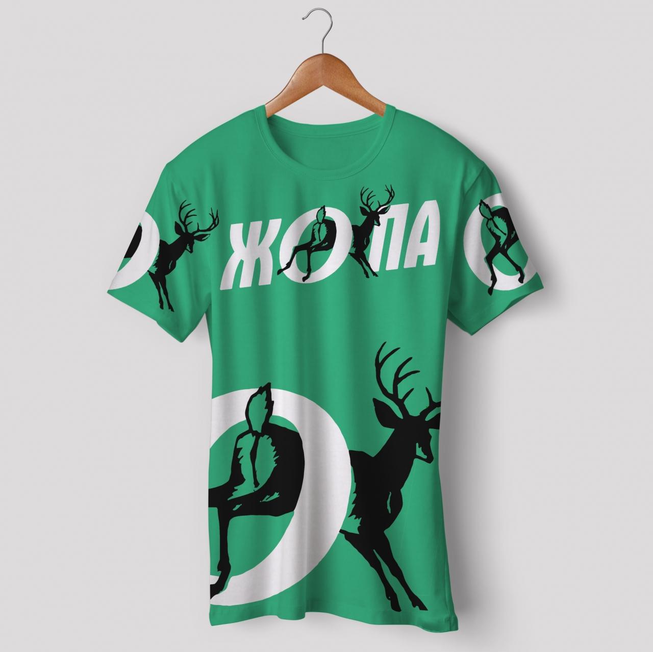 футболка синтетическая для занятий спортом 100%polyester